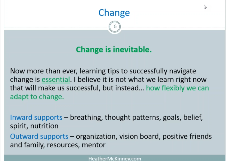 Webinar – Transformation: The Time for Great Change