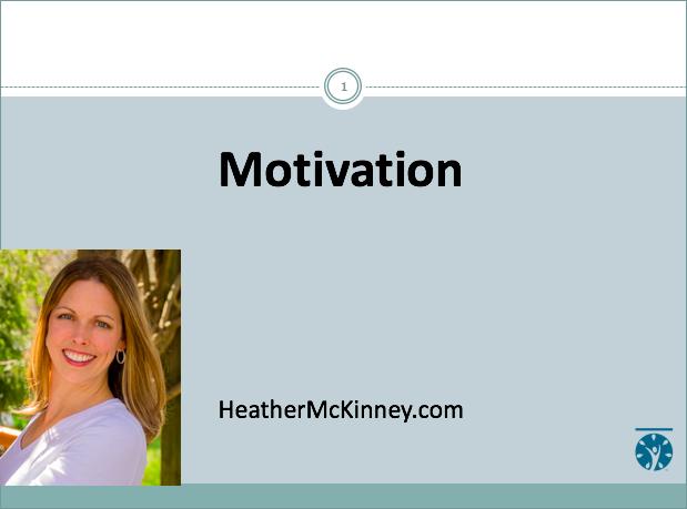 Webinar – Motivation