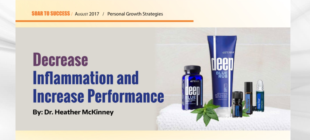 Decrease Inflammation and Increase Performance – Soar to Success Magazine