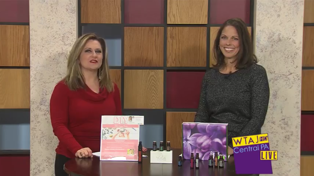 Central PA LIVE – DIY Essential Oils for the Holidays