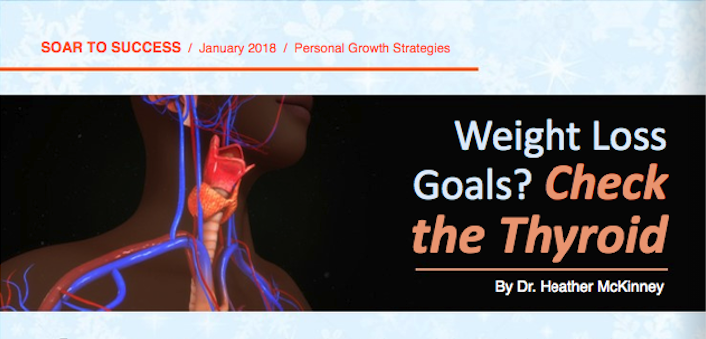 Weight Loss Goals? Check the Thyroid – Soar to Success Magazine